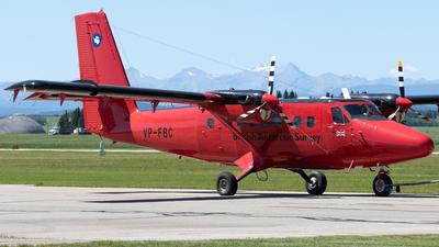 VP-FBC - De Havilland Canada DHC-6-300 Twin Otter - British Antarctic Survey