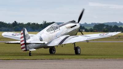 N80FR - Curtiss P-40C Tomahawk - Private