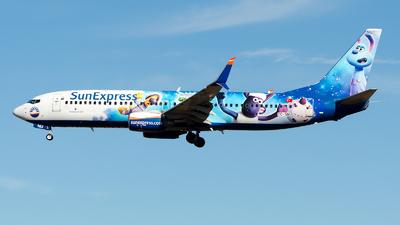 A picture of TCSNU - Boeing 7378HC - SunExpress - © Alp AKBOSTANCI