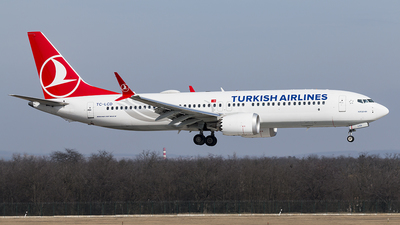 A picture of TCLCD - Boeing 737 MAX 8 - Turkish Airlines - © Balumaci75