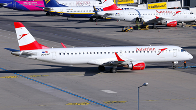 A picture of OELWC - Embraer E195LR - Austrian Airlines - © Lorenz Kafenda