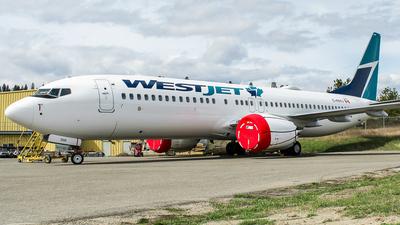 C-FRYV - Boeing 737-8 MAX - WestJet Airlines