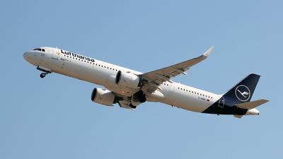 D-AIEB - Airbus A321-271NX - Lufthansa