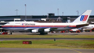 N181UA - Boeing 747-422 - United Airlines