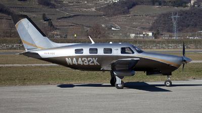 A picture of N4432K - Piper PA46350P Malibu Mirage - [4636639] - © Fabrizio Gandolfo
