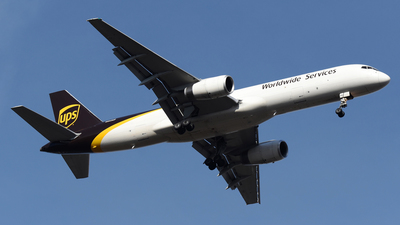 A picture of N443UP - Boeing 75724APF - UPS Airlines - © DJ Reed - OPShots Photo Team