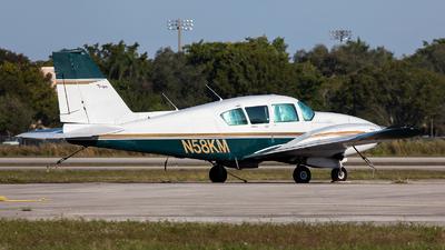 N58KM - Piper PA-23-250 Aztec - Private