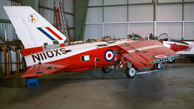 N110XS - Folland Gnat T.1 - Private