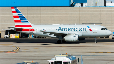 A picture of N816AW - Airbus A319132 - American Airlines - © Nathaniel Schott