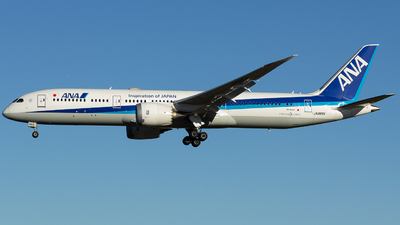 JA885A - Boeing 787-9 Dreamliner - All Nippon Airways (ANA)