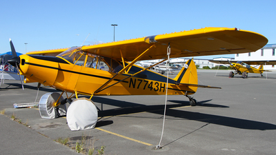 N7743H - Piper PA-12 Super Cruiser - Private