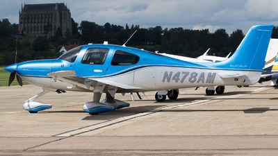 N478AM - Cirrus SR22-GTS G5 Platinum - Private
