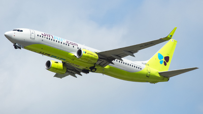 A picture of HL8016 - Boeing 7378SH - Jin Air - © Lee Jihun