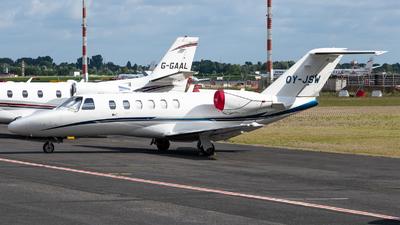 OY-JSW - Cessna 525A CitationJet 2 - Flexflight