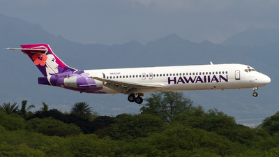 N483HA - Boeing 717-22A - Hawaiian Airlines
