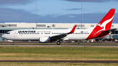 A picture of VHVXT - Boeing 737838 - Qantas - © Robbie Mathieson