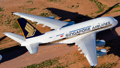 A picture of 9VSKY - Airbus A380841 - Singapore Airlines - © Joel Baverstock
