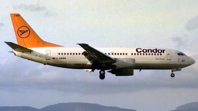 D-ABWA - Boeing 737-330 - Condor