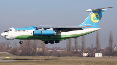UK-76426 - Ilyushin IL-76TD - Uzbekistan - Air Force