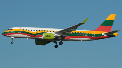 YL-CSK - Airbus A220-300 - Air Baltic