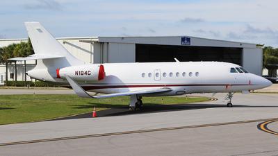 N184G - Dassault Falcon 2000S - Private