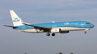 A picture of PHBXD - Boeing 7378K2 - KLM - © Kris Van Craenenbroeck