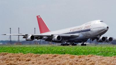 N609US - Boeing 747-151 - Northwest Orient Airlines