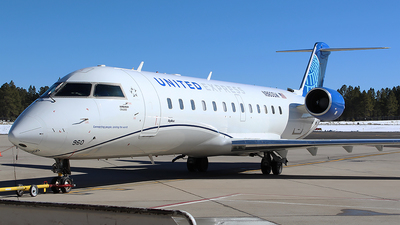 A picture of N960SW - Mitsubishi CRJ200LR - United Airlines - © Alexander Aston