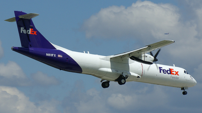 N811FX - ATR 72-202(F) - FedEx Feeder (Mountain Air Cargo)