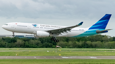 PK-GPQ - Airbus A330-243 - Garuda Indonesia