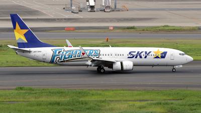 JA73NX - Boeing 737-86N - Skymark Airlines