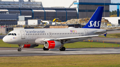 A picture of OYKBR - Airbus A319131 - SAS - © Rickard Andersson