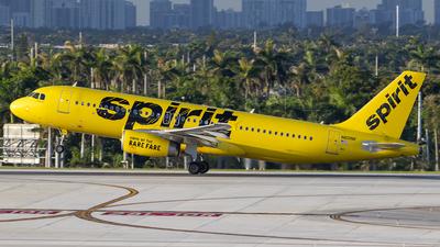 N601NK - Airbus A320-232 - Spirit Airlines