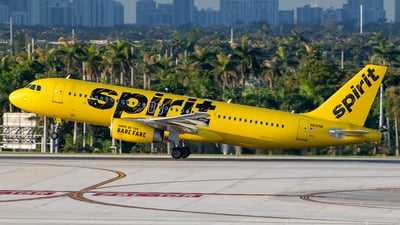 A picture of N601NK - Airbus A320232 - Spirit Airlines - © Nelson Mejia