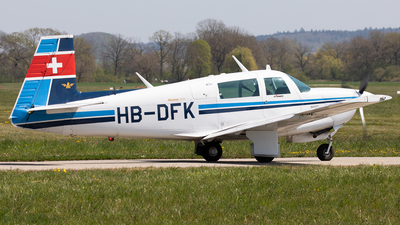 HB-DFK - Mooney M20J-201 - Farner Aviation