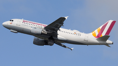 D-AKNS - Airbus A319-112 - Germanwings