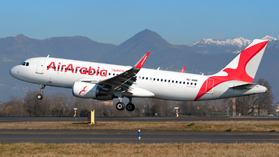 A6-ANM - Airbus A320-214 - Air Arabia