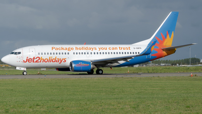 A picture of GGDFK - Boeing 73736N - Jet2 - © zsoltiforgacs