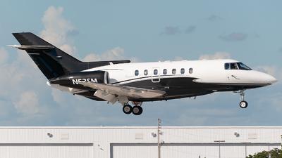 N52SM - British Aerospace BAe 125-1000A - Private