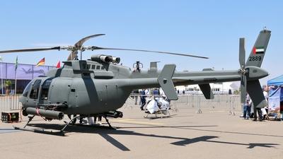 2889 - Bell 407GX - United Arab Emirates - Air Force