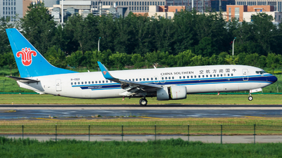 A picture of B1921 - Boeing 73786N - China Southern Airlines - © Marcus Yu