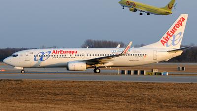 EC-KCG - Boeing 737-85P - Air Europa