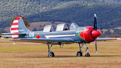 VH-YYC - Yakovlev Yak-52 - Private