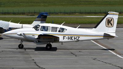 F-HKHZ - Piper PA-23-250 Aztec E - IMAO Aerial Survey