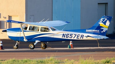 N657ER - Cessna 172S Skyhawk - Embry-Riddle Aeronautical University (ERAU)