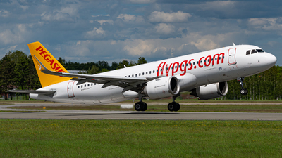 A picture of TCNBS - Airbus A320251N - Pegasus Airlines - © Niclas Rebbelmund