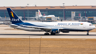 A picture of CP2880 - Boeing 76733A(ER) - Boliviana de Aviacion - © HXD3D-0080