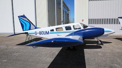A picture of GBOUM - Piper PA34200T Seneca II - [347670136] - © Goncalo Guimaraes