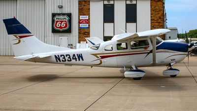 N334W - Cessna U206F Stationair - Private
