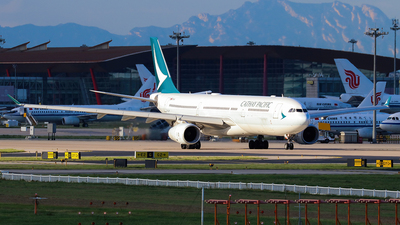 A picture of BLAP - Airbus A330343 - Cathay Pacific - © Jerry.H